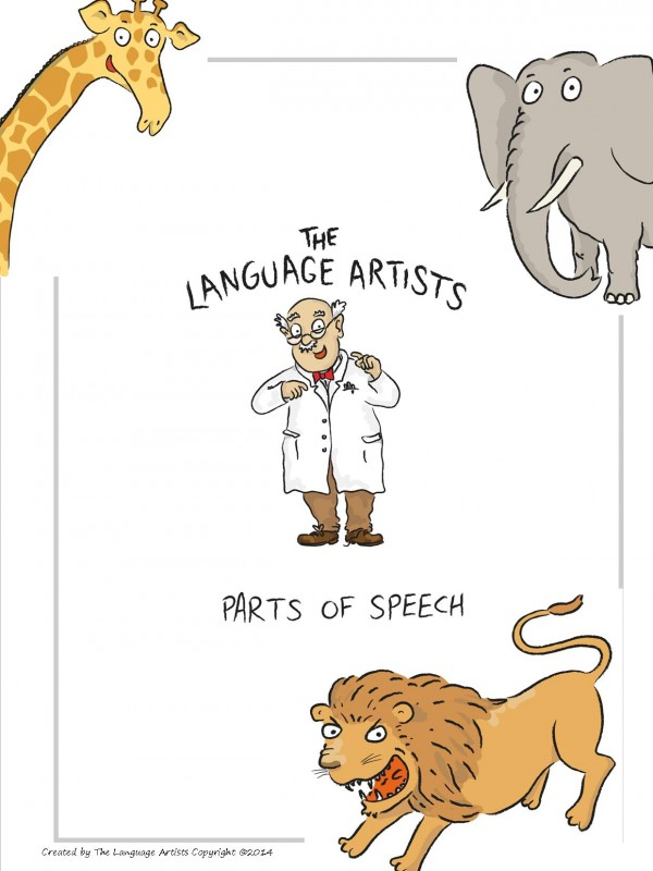 Parts of Speech Cover